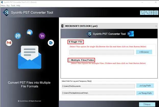 MailConverterTools PST Converter
