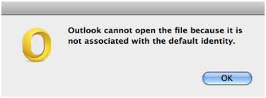 Outlook cannot open the file