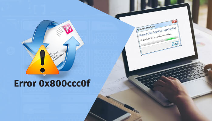 Fix Outlook Express error 0x800ccc0f