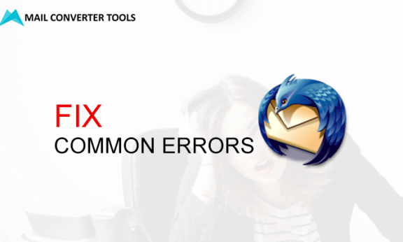 Fix Common Errors in Mozilla Thunderbird