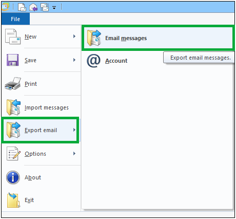 Windows Live Mail to outlook