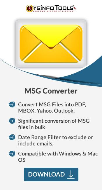 MSG Converter Sidebar
