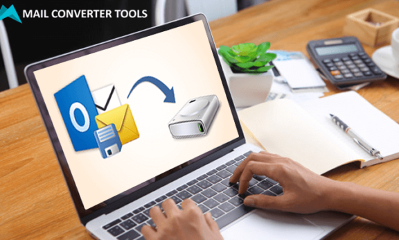 how to save outlook emails to hard drive automatically