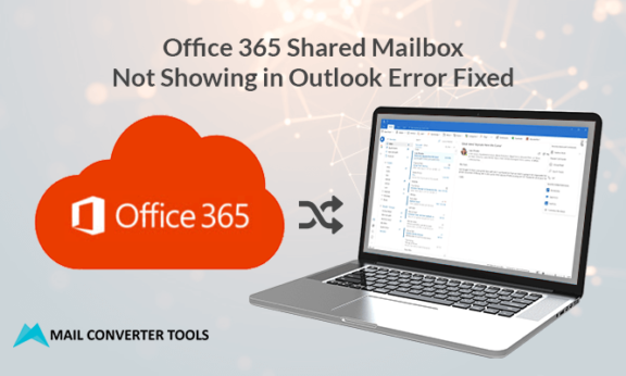 office 365 shared mailbox not showing in outlook