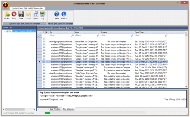 Free EML to NSF Converter Software to Import Emails Message