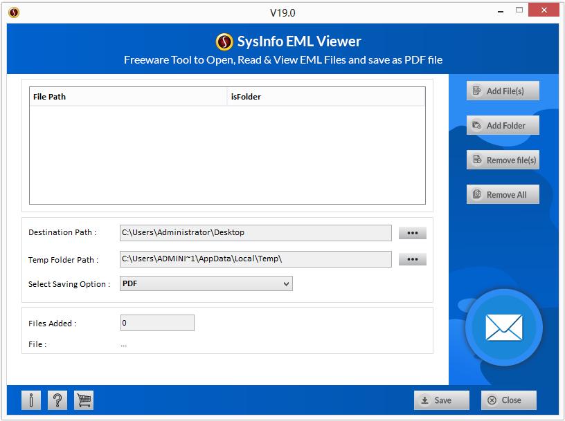 MailConverterTools EML Viewer full screenshot