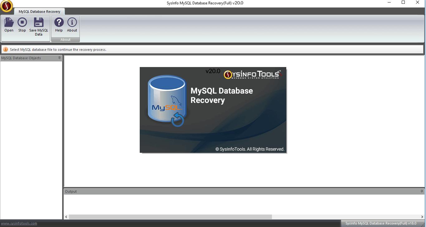MailConverterTools MySQL Database Repair