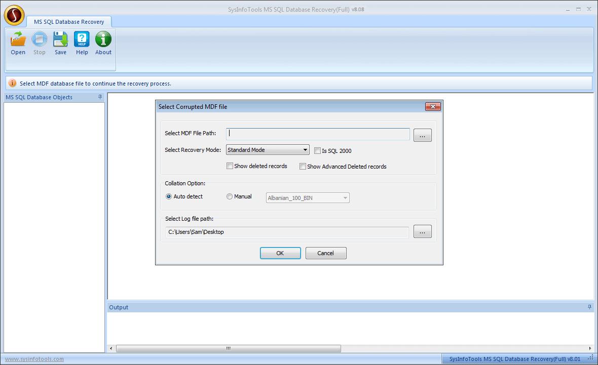 Microsoft SQL Repair Tool